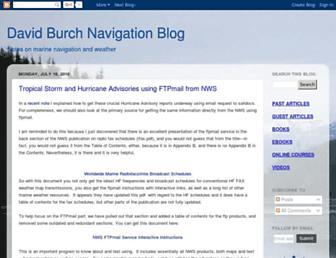 davidburchnavigation.blogspot.com screenshot