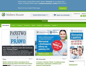 Thumbshot of Wolterskluwer.pl
