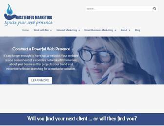 Thumbshot of Masterful-marketing.com