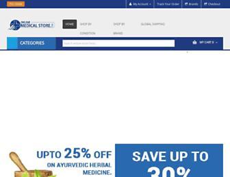 onlinemedicalstore.com screenshot