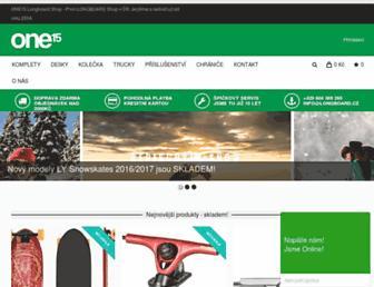 longboardshop.cz screenshot