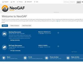 neogaf.com screenshot