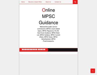 mpsconlineguidance.blogspot.com screenshot