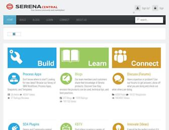 serenacentral.com screenshot