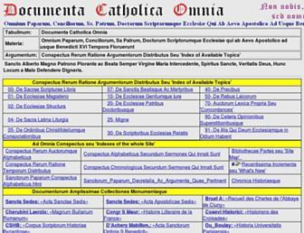 documentacatholicaomnia.eu screenshot