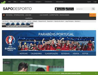 desporto.sapo.pt screenshot