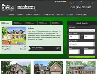 metroatlantahome.com screenshot