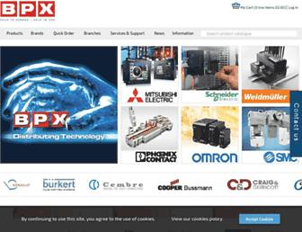 bpx.co.uk screenshot