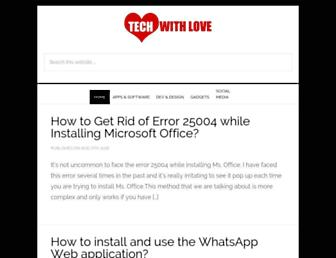 techwithlove.com screenshot