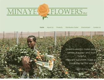 minayeflowers.com screenshot