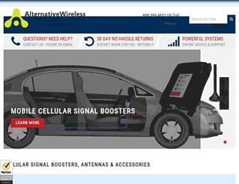 alternativewireless.com screenshot