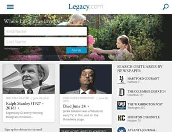 Thumbshot of Legacy.com