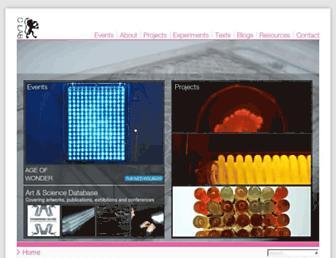 Main page screenshot of c-lab.co.uk