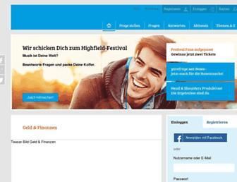 Thumbshot of Gutefrage.net