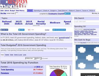 Thumbshot of Usgovernmentspending.com