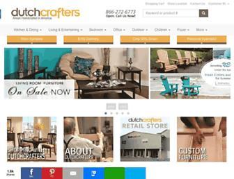 dutchcrafters.com screenshot