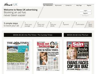 newsukadvertising.co.uk screenshot