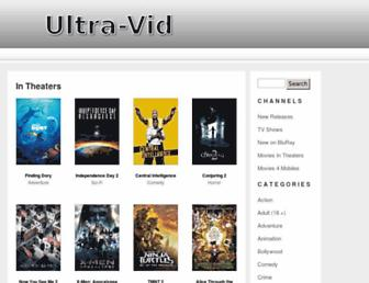 Thumbshot of Ultra-vid.com