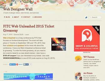 Thumbshot of Webdesignerwall.com
