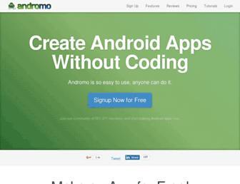 Thumbshot of Andromo.com
