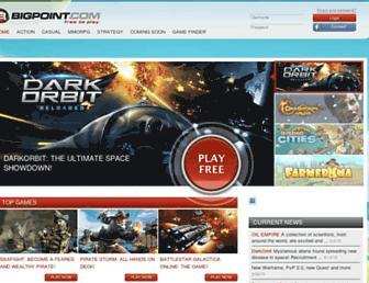 Thumbshot of Bigpoint.com