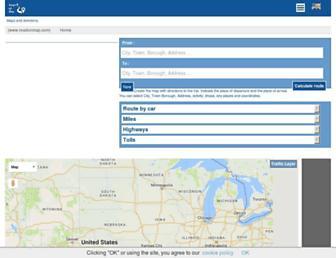 roadonmap.com screenshot
