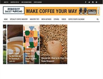 perfectdailygrind.com screenshot
