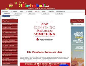 Thumbshot of Stickyball.net