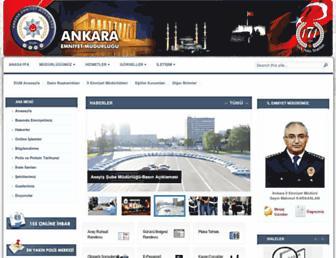 ankara.pol.tr screenshot