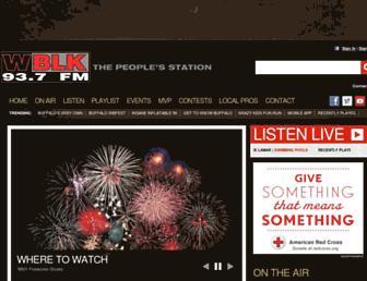 wblk.com screenshot