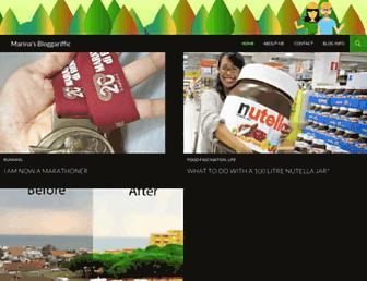 Main page screenshot of rinaz.net