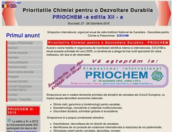 priochem.icechim.ro screenshot