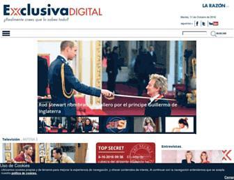 exclusivadigital.com screenshot