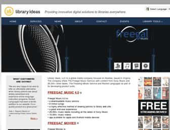 Thumbshot of Libraryideas.com