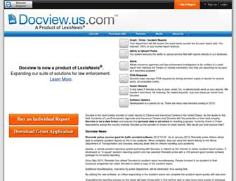 Main page screenshot of docview.us