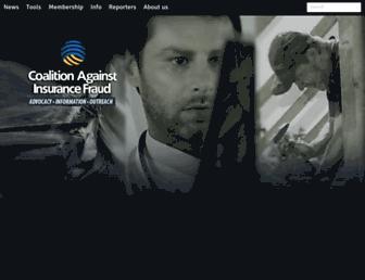 insurancefraud.org screenshot