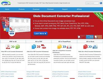 okdosoft.com screenshot
