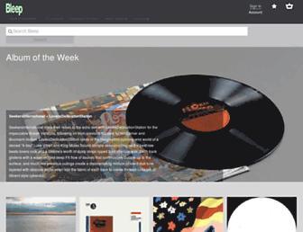 bleep.com screenshot