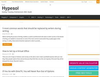 Thumbshot of Hypesol.com