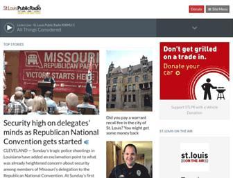 stlpublicradio.org screenshot