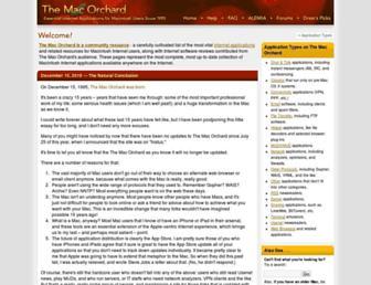 macorchard.com screenshot