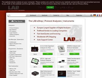 thelabeshop.com screenshot