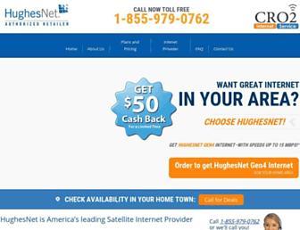 Main page screenshot of cro2.org