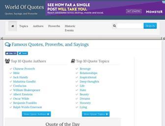 Thumbshot of Worldofquotes.com