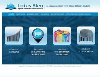 lotusbleu.fr screenshot