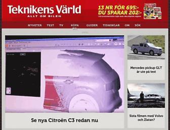 Thumbshot of Teknikensvarld.se