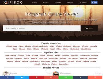 pikdo.net screenshot