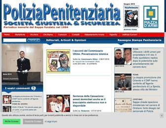 Thumbshot of Poliziapenitenziaria.it