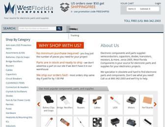 westfloridacomponents.com screenshot