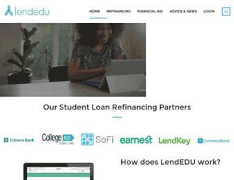 lendedu.com screenshot